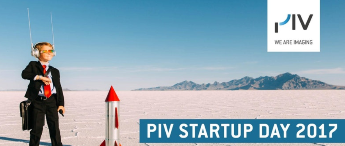 PIV Startup Day am 5. Oktober 2017:  Kurzvorstellung der 10 Imaging-Startups
