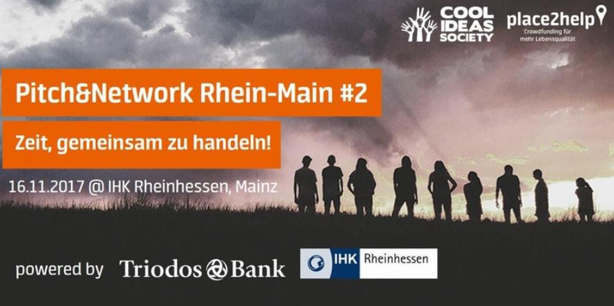 Pitch&Network Rhein-Main #2 featuring SKÄYL