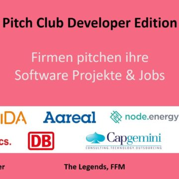 Pitch Club Developer Edition – on October 26th,