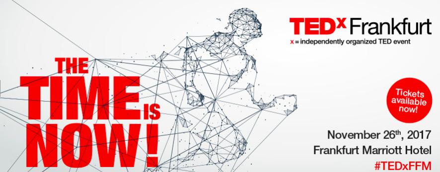 TEDxFrankfurt – am 26.11 ist es wieder so weit!