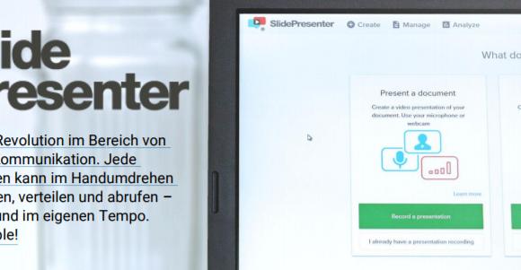 Praktikum Operations and Strategy bei SlidePresenter in Frankfurt