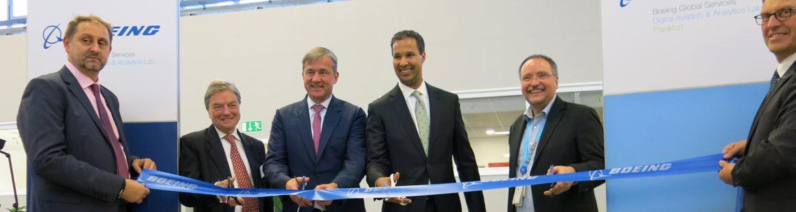 "Boeing eröffnet ""Digital Aviation & Analytics Lab Frankfurt"""