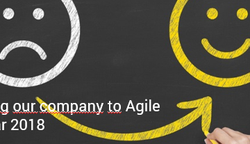"Between the Towers am 6. Februar 2018: ""De-scaling our company to Agile"""