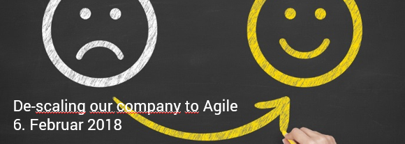 """Between the Towers am 6. Februar 2018: """"De-scaling our company to Agile"""""""
