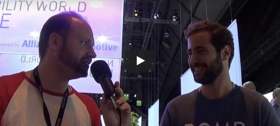 Startuprad.io at Frankfurt Motor Show – Pomp.io delivers fuel to your car