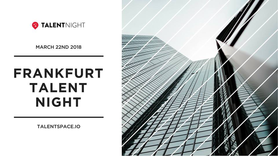 Frankfurt Talent Night hosted by Talent Summit next month