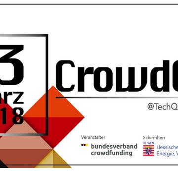 CrowdCon 2018 bietet spannenden Start-ups eine Plattform