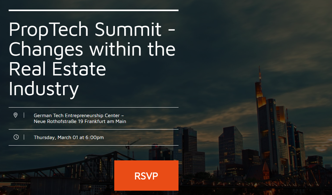 PropTech Summit – Changes within the Real Estate Industry