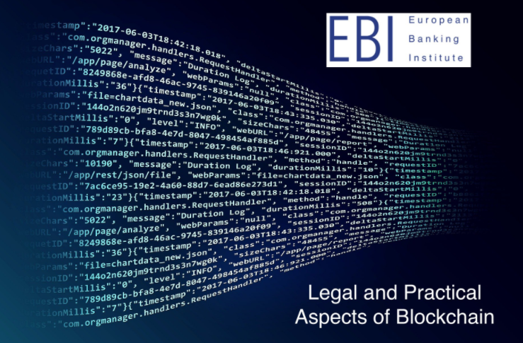 Tomorrow: Legal and practical aspects of blockchain workshop