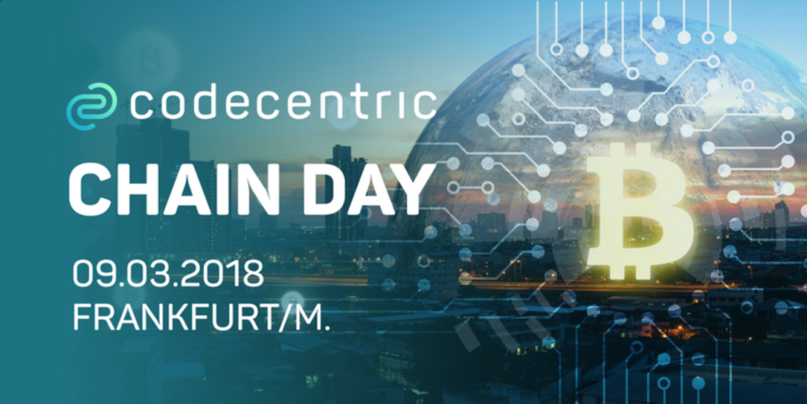 Event of the day: Chainday Frankfurt, by codecentric