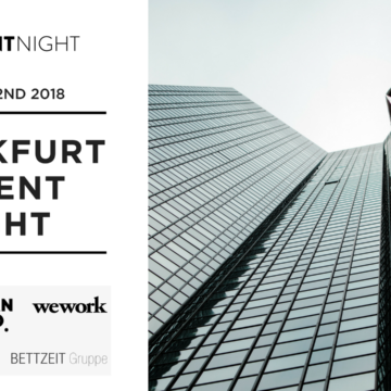 More updates about Frankfurt Talent Night – 1 week to go