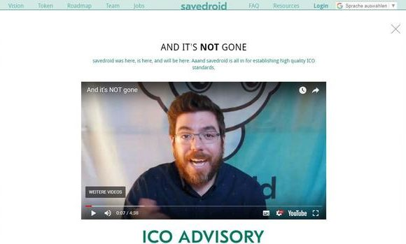 And it's NOT gone – Savedroid is Safe (?)