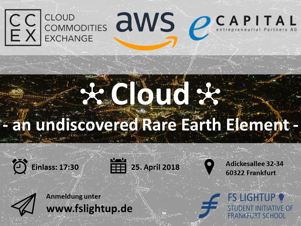 """""""Cloud – an undiscovered Rare Earth Element?"""""""