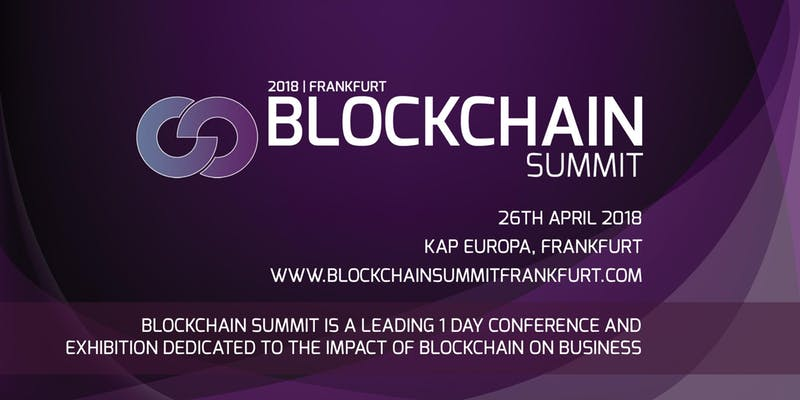 Blockchain Summit – this week – don´t miss it