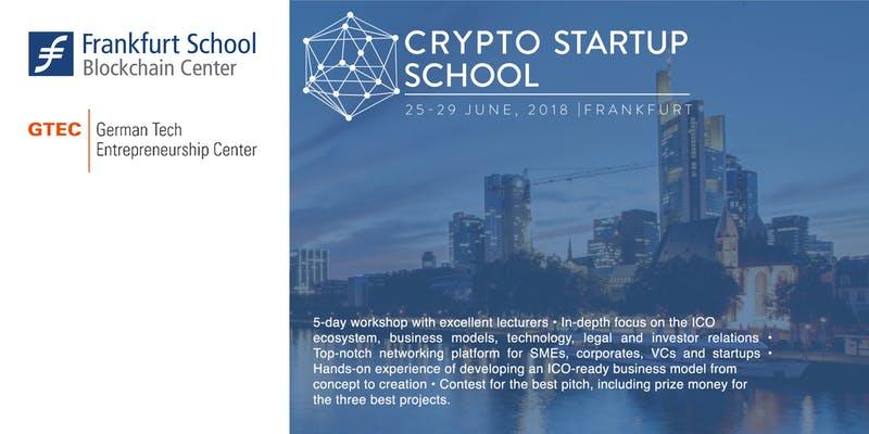 Crypto Startup School 2018