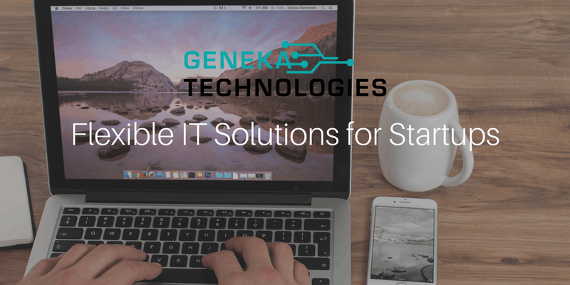 Flexible IT Solutions for Startups – an event by Geneka