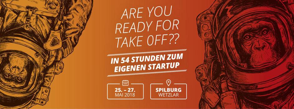 Startup Weekend Mittelhessen 2018 Spilburg, Wetzlar 25.05. bis 27.05.2018