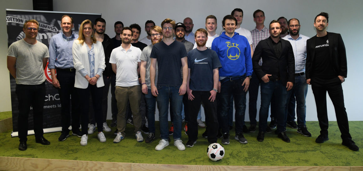 Eintracht Frankfurt intensiviert Kooperation mit Start-up Hub