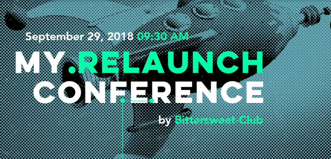 My Relaunch – Returning to Work Conference / next month