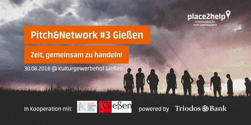 """Pitch&Network Rhein-Main – Zeit, gemeinsam zu handeln"""" kommt nach Gießen"""