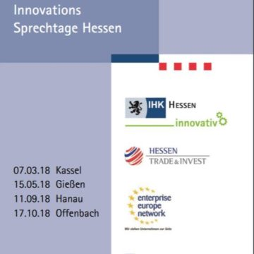 Innovation Consultancy Day in Offenbach – Innovations Sprechtage Hessen