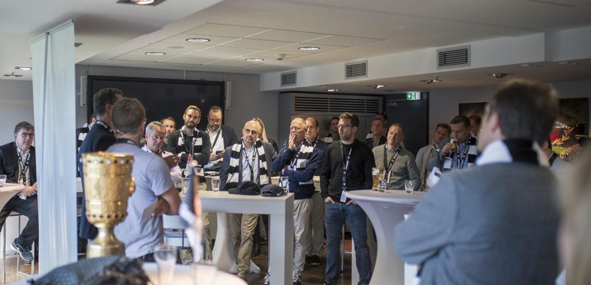 Digitalisierung im Mittelstand – erstes gemeinsames Event von Eintracht Frankfurt und der Deutschen Bank