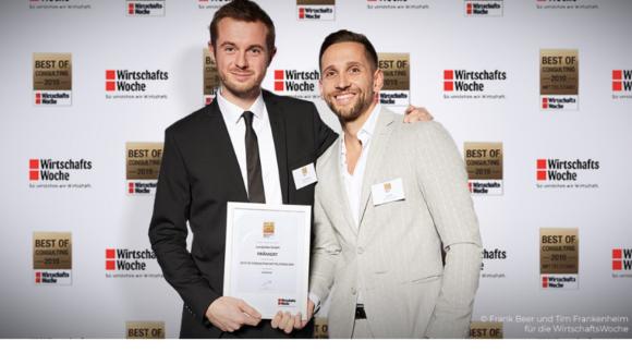 Candylabs mit Best Of Consulting Award der Wirtschaftswoche ausgezeichnet