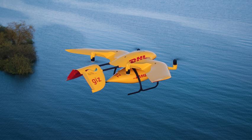 Sehen so die Paketboten der Zukunft aus? Ja, sagen die Gründer von Wingcopter.