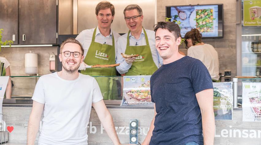 Frankfurter Food-Startup Lizza legt Exit an CREMER hin