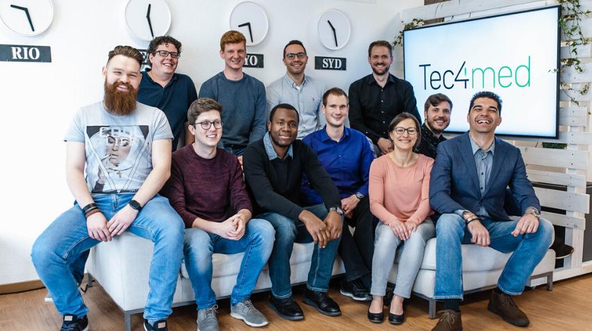 Frankfurt Forward zeichnet Tec4med als Startup Of The Month Februar aus