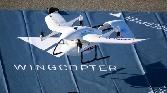 Weltpremiere für die Flugdrohnen von Wingcopter aus Darmstadt