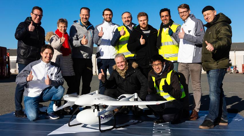 Wingcopter sichert sich weiteres siebenstelliges Investment von Corecam