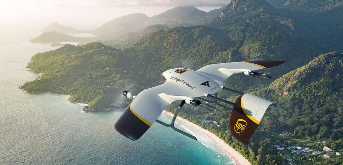UPS Flight Forward und Wingcopter entwickeln Drohnen-Flotte